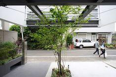 japan-architects.com: 黒崎敏/APOLLOによる杉並の住宅「ARK」