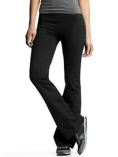 GapFit gFlex pants - If you only get one active pant this year, make it the gFlex. Flattering for all body types, it's perfect for the gym, spinning, and every workout in between.