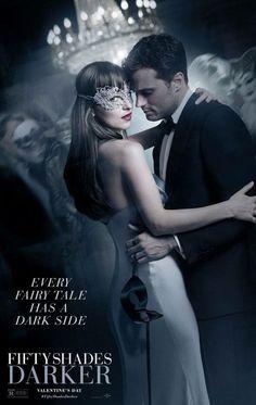 """""""Todo conto de fadas tem um lado escuro."""" / Cinquenta tons mais escuros / fifty shades darker/ Christian grey / Anastasia Stele/ Jamie Dornan / Dakota"""