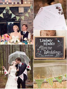 1. Twine and Love... - 3 Ways to Bunt or Banner Your Wedding Day…  Wedding