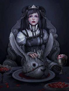 Creepy twist on Alice