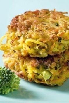 Gulerodsfrikadeller med broccoli | SØNDAG
