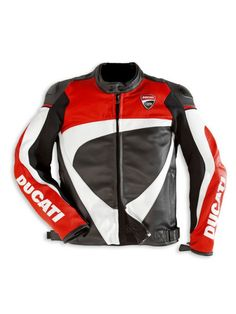 Ducati MotoGP Leather Jacket Bike Racing Leather Jacket with CE PADs  http://jackleathers.com/Motogp-Leather-Jackets