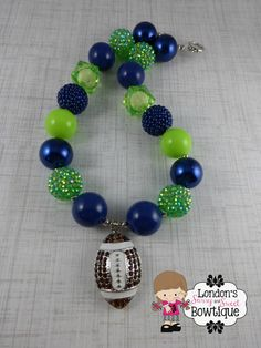 Seattle Seahawks Chunky Necklace