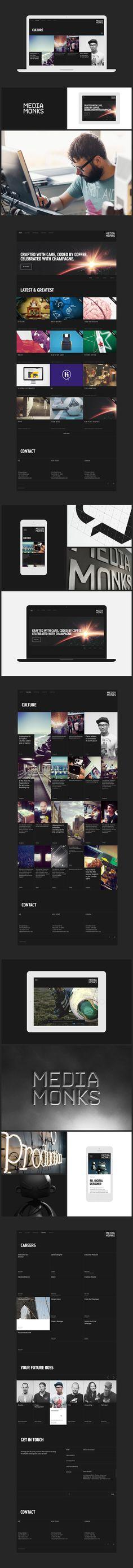 MediaMonks.com on Behance