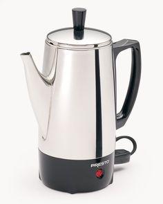 Coffee Percolator Maker #CoffeePercolator