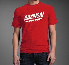 The Big Bang Theory Bazinga Coitus Sheldon by blesseldesigns, $12.99