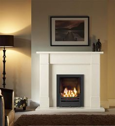 LoveFirePlaces, the online fire and fireplaces company based in the UK, announced the launch of new contemporary Marble Stone Fireplace packages range for living room. Gallery Marble Fireplace packages offers integrated and modern solution for Heating a Interior, Home, Fireplace Surrounds, Marble Fireplaces, New Living Room, House Interior, Fireplace Mantels, Modern Fireplace, Urban Interiors