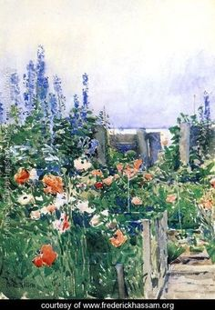 Flowers Garden Waterlilies by Claude Monet 1914 Painting Fine Art Repo FREE S//H