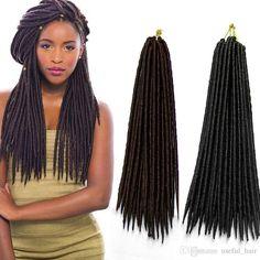 Faux Locks, Synthetic Hair Extensions, Crochet Hair Styles, Short Cuts, Black Women, Braids, Dreadlocks, Fashion, Afro Hairstyles
