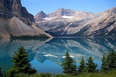 bow lake, canadian rockies (werner22brigitte)
