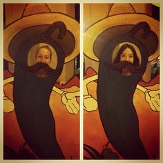 mexican theme photo booth, love the stash