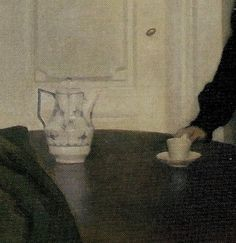 Vilhelm Hammershøi (1864-1916 Danish) • Interior