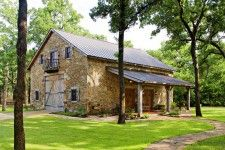 Originally built in 1830 in central New York this barn has been moved to and restored in Lake Limestone, TX.