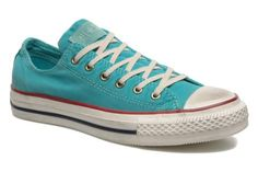 Zapatos CONVERSE - Chuck Taylor All Star Fashion Washed Ox W @ Sarenza.es