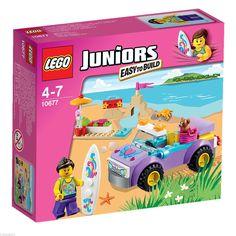 Lego Juniors 10677 Beach Trip Girls Set New SEALED 74pcs Ages 4 Great Gift | eBay