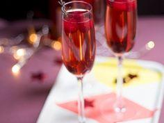 Recette Boisson : Cocktail champagne fruits rouges par MarineisCooking