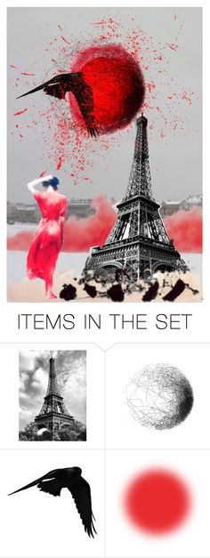 """""""We NEVER give up"""" by lisa-cuddy ❤ liked on Polyvore featuring art and prayforparis"""