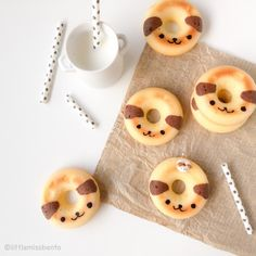 Baked Cute Doggy Donuts