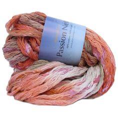 Passion Nette - Ruffle Yarn -Item 894 | Plymouth Yarn