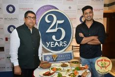 Speciality Restaurants Limited celebrated their 25 glorious years in the industry with Tollywood actor Dev and Mr. Anjan Chatterjee.