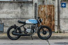 Jawa 350 #caferacer discover #motomood