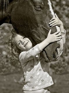 First love by Kerri-Jo, via Flickr...this will be my child I will have a barn and horses