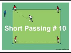 Soccer Passing Drills For High School Coaches - YouTube