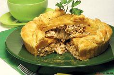 Receita de Pastelão de frango. Descubra como cozinhar Pastelão de frango de maneira prática e deliciosa com a Teleculinária!