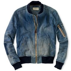 Denim & Supply Ralph Lauren Lassen Denim Jacket teddy inspiration spring summer nice look Denim Jacket Men, Denim Shirt, Leather Jacket, Denim Jackets, Denim Man, Denim Fashion, Look Fashion, Best Jean Jackets, Estilo Jeans