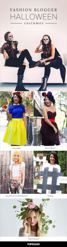 Take it from your favorite bloggers, these Halloween costumes sure are stylish!