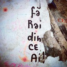 fa rai din ce ai. #romaneste