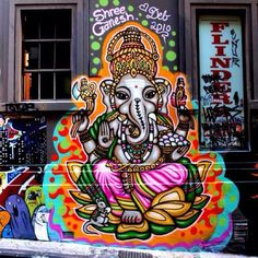 Streetart Ganesha