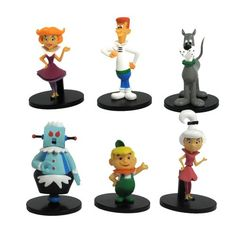 """Hanna Barbera The Jetsons Collector 2"""" Action Figure, 6-P... https://www.amazon.com/dp/B0091K3C7I/ref=cm_sw_r_pi_dp_xYwJxbYR805D9"""
