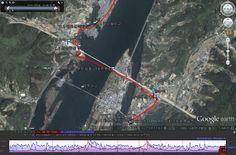 북한강울트라마라톤대회 구글맵-01