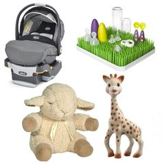 From car seats to teethers, check out these adorable gifts that top the Baby Registry at baby product retailer Right Start!