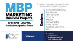 Presentación de proyectos de los alumnos de Mercadotecnia #CampusReforma #gentedenegocios