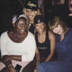 Orange is the New Black - Danielle Brooks, Laverne Cox, Samira Wiley, and Jackie Cruz