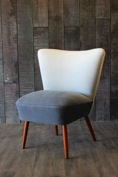 Ombre Cocktail Chair - Grey/Blue - Sofas & Armchairs - Furniture