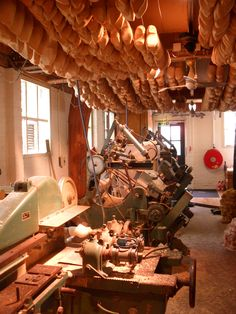 making wooden shoes