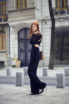 THE CUT – OUTS JUMPSUIT : Rhea Costa Blog Cut Outs, Costa, Jumpsuit, Blog, Dresses, Style, Fashion, Overalls, Vestidos