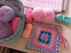 crochet nice granny square
