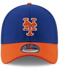 8dfb30a9aa9 New Era New York Mets Batting Practice 39THIRTY Cap - Blue S M
