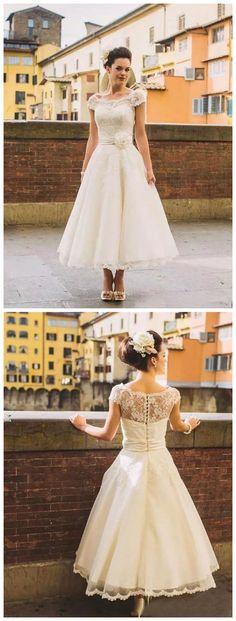wedding dresses vintage,wedding dresses lace,modest wedding dresses,unique wedding dresses,wedding dresses a line,wedding dresses tea length,wedding dresses cheap #amyprom #weddingdress #fashion #love #wedding #formal