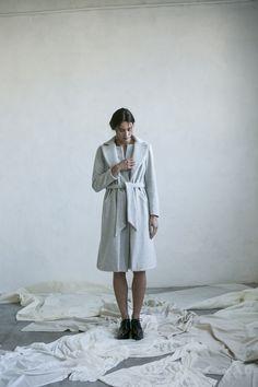 Winter coat Basic style Made in Barcelona