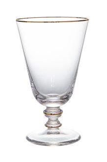 Copo em cristal com pé Verdi<br>22 cl