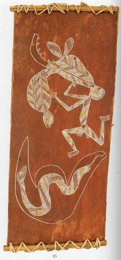 The aim of this article is to assist readers in identifying if their bark painting is by Bardjaray by comparing examples of his work. Aboriginal Painting, Aboriginal Culture, Australian Art, Indigenous Art, Modern History, Sacred Art, First Nations, Archaeology, Painters