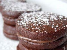 Receita de Biscoitos Amanteigados de Chocolate   Doces Regionais