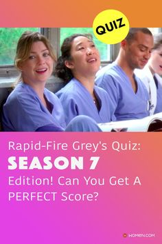 Take this season 7 Grey's Anatomy quiz to see how well you really remember the show! Only a true fan will pass with one try! #greys #GreysAnatomy #greysquiz #greysnostalgia #greysAnatomyTrivia #season7 #greysseason7 #greystragedies #greysdeath #greysanatomyscene