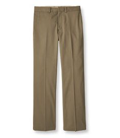 #LLBean: Wrinkle-Resistant Dress Chinos, Standard Fit Plain Front